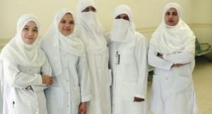 nurses in Saudi